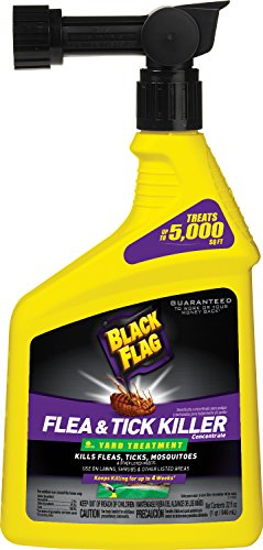 Black Flag HG-11105 Flea & Tick Killer Yard Treatment Concentrate Spray, 32 oz (Flea Control For Yard compare prices)