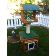 Cedar Outdoor Cat House
