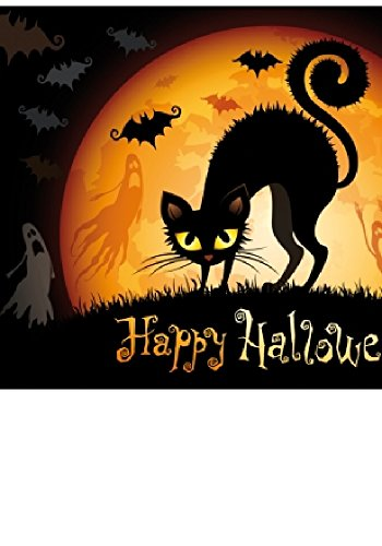 Wentworth Cat Outta Hell 250 Piece Wooden Halloween Jigsaw Puzzle