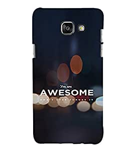 EPICCASE You're Awesome Mobile Back Case Cover For Samsung Galaxy A5 (2016) (Designer Case)