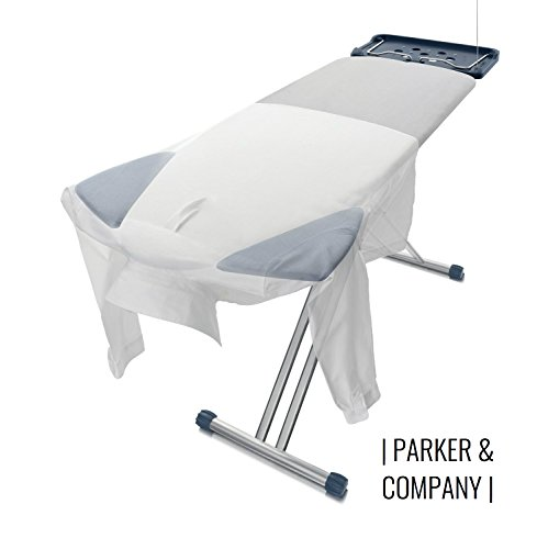 Parker Extra Wide Ironing Pro Board with Shoulder Wing Folding (Iron Folding Board compare prices)