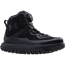 Under Armour UA Fat Tire GTX Boot - Men\'s Black / Black / Black 14