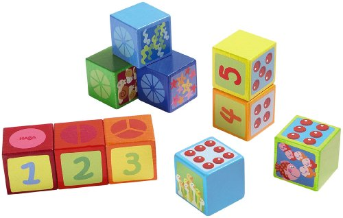 Haba Building Blocks Number Dice - 1