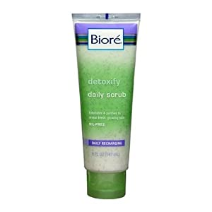 Detoxifying Daily Scrub Unisex by Biore, 5 Ounce