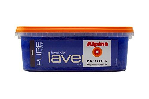 Alpina pure colour 2 5 l wandfarbe matt lavendel flieder for Wandfarbe flieder wirkung