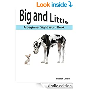 A Amazon.com: little Word Book Beginner and sight   with Sight (Dolch Pre    Big book Little word