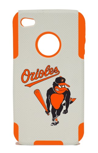 Apple Iphone 4 / 4s Plastic & Silicone Case, Baltimore Orioles Cover at Amazon.com