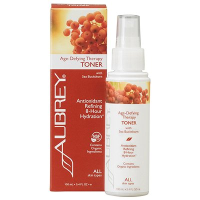 Age-Defying Therapy Toner Aubrey Organics 3.4 Oz Liquid
