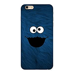 Ajay Enterprises Blue Funny Ghost Back Case Cover for iPhone 6 Plus 6S Plus
