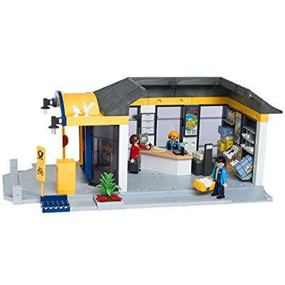 Amazon.com: Playmobil Post Office Playmobil City Life