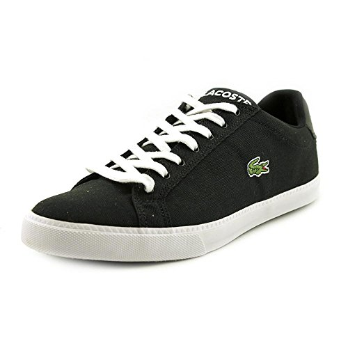 Lacoste Men's Grad Vulc Fb Fashion Sneaker Fashion Sneaker, Black/white, 9 M US