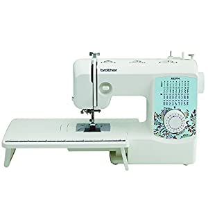 Brother XR3774 Full-Featured Sewing and Quilting Machine with 37 Stitches, 8 Sewing Feet, Wide Table, and Instructional DVD
