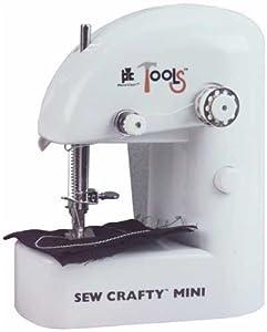Sew Crafty Mini Sewing Machine White from Provo Craft