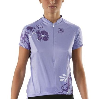 Giordana 2012 Women's Peony Short Sleeve Cycling Jersey - Purple - gi-wssj-peon-purp цены онлайн