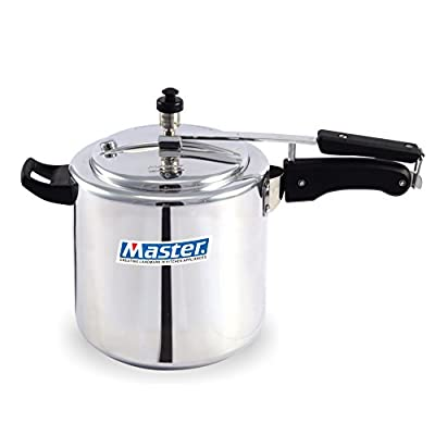 Master Aluminium Innerlid Pressure Cooker, 6.5 Litre,1 piece,Silver Color