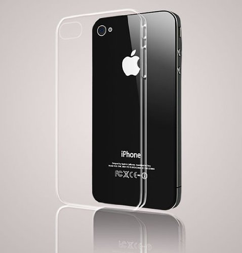 CAZE iPhone 4/4S対応 世界最薄級ケース Zero 5(0.5mm)UltraThin for iPhone 4/4S - Clear C-Z5I4-C