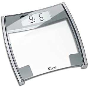 Weight Watchers MS8320U Easy Read LCD Precision Electronic Scale
