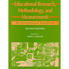 Educational Research, Methodology and Measurement (Resources in Education Series)