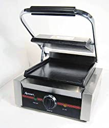 Adcraft SG-811/F Commercial Panini Press Sandwich Grill