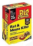STV The Big Cheese Chew-Thru Rat And Mouse Killer 40g x 20 STV146