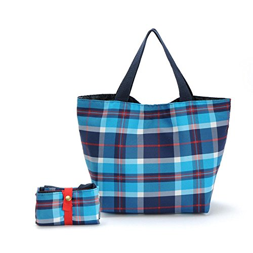 Foldable Lunch Bag, SUPPION Portable Cooler Insulated Carry Tote Lunch Box Storage Bag Travel Picnic Bag (Personalized Cooler Tote compare prices)