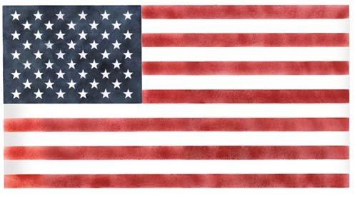 American Flag Star Stencil American Flag Wall Stencil