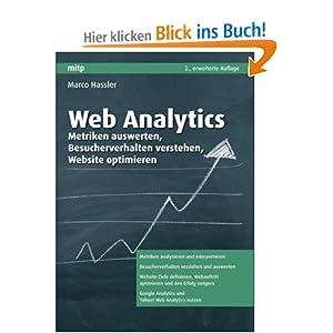 eBook Cover für  Web Analytics Metriken auswerten Besucherverhalten verstehen Website optimieren mitp Business