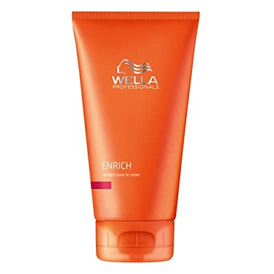 Wella Enrich Straight Leave In Cream, 5.07 oz