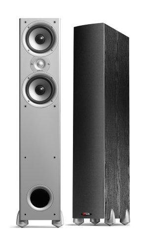 Two Way Audio Monitor : Polk audio monitor am a way floorstanding speaker