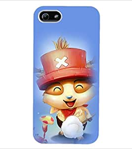 ColourCraft Cartoon Back Case Cover for APPLE IPHONE 5S