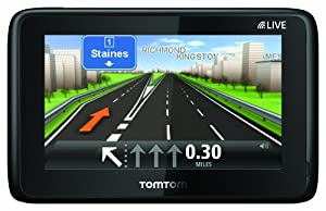 "TomTom GO LIVE 1000 4.3"" Sat Nav with UK and Ireland Maps (discontinued by manufacturer) (discountinued by manufacturer)"