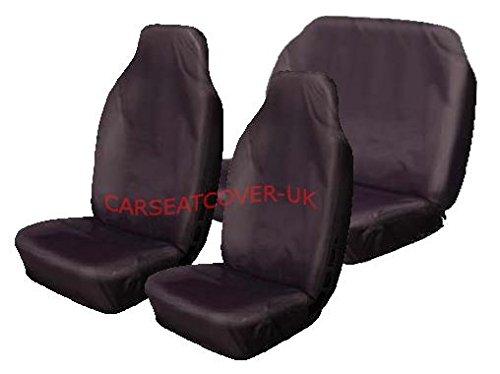 chrysler-ypsilon-heavy-duty-black-waterproof-car-seat-covers-full-set
