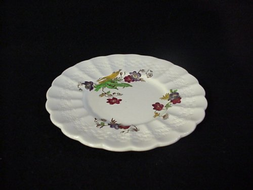 SPODE CUSTARD PLATE ONLY WICKER LANE (#2/7519)