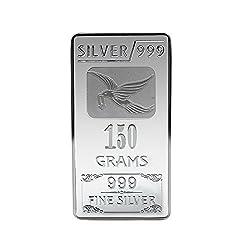 Joyalukkas BIS Hallmarked 150 grams 999 Silver Bar