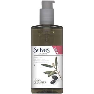 St. Ives Moisturizing Olive Cleanser, 6.75-Ounce Pump Bottles (Pack of 3)