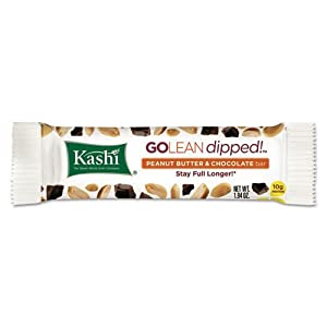 Kashi Go Lean Protein & Fiber Bars, Peanut Butter & Chocolate, 1.94 oz