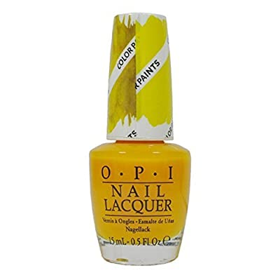 OPI Bendable Nail Polish Lacquer 2015 Color Paints Collection 0.5oz_P20 - Primarily Yellow
