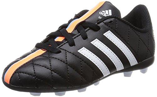 Adidas - 11 Questra Fxg J, Scarpa Da Calcetto per bambini e ragazzi, Bianco-Nero, 5,5