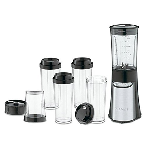 Cuisinart CPB-300 SmartPower 15-Piece Compact Portable Blending/ Chopping System, 10.0 x 10.0 x 15.7 (Cuisinart Smartpower Lids compare prices)