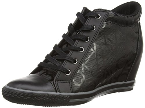 Calvin Klein - Vero Rub Ck Logo/Smooth, Scarpe Da Ginnastica da donna, colore nero (schwarz), taglia 39
