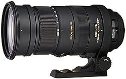 Sigma f/4-6.3 APO DG HSM Optical Stabilised Lens for Sony Full Frame and Digital APS-C SLR Camera