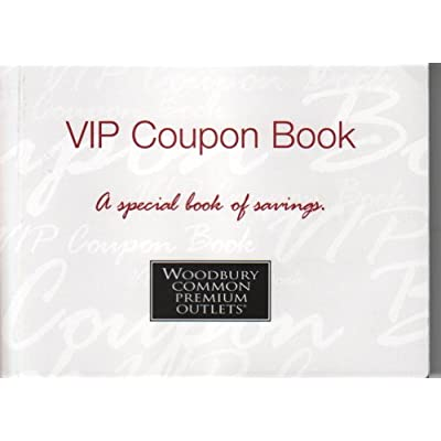premium outlets vip coupon book