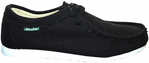 Djinns W-Low Canvas Halbschuh Black, Black, 41