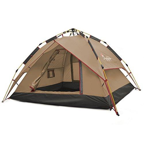 Mountaintop-Trekkingzelt-Zelt-MinipackAutomatische-Tunnelzelt-Familienzelt-Campingzelt-fr-2-3-Personen