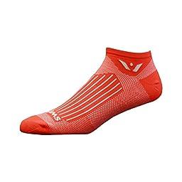 Swiftwick Aspire Zero Socks Radar Orange, S - Men\'s