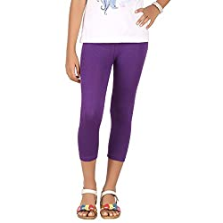 BELONAS Girl's Purple Capris