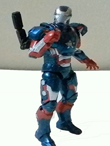 "Marvel Legends IRON PATRIOT 6"" inch review (movie version Iron Monger BAF series) toy action figure"