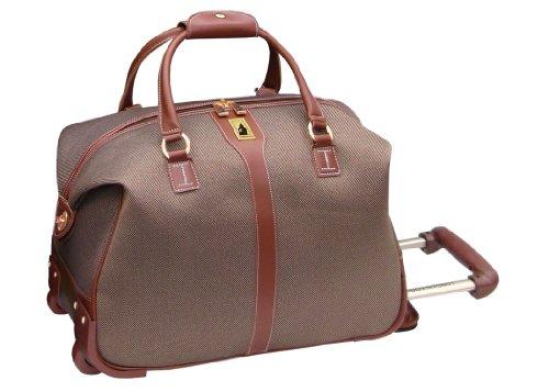 london fog oxford ii 20 inch wheeled club bag tan one size - London Fog Luggage