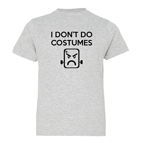 Festive Threads Big Boys' I Don't Do Costumes (Frankenstein) Kids T-Shirt