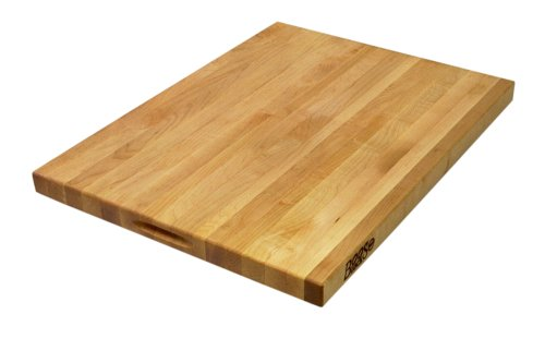 John Boos R02 Maple Wood Edge Grain Reversible Cutting Board, 24 Inches x 18 Inches x 1.5 Inches (Butcher Block 18 X 18 compare prices)